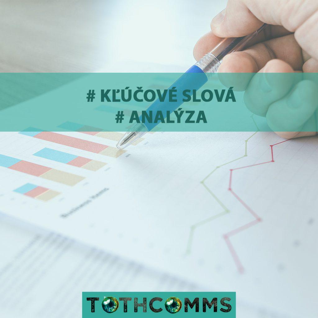 keyword klucove slova analyza